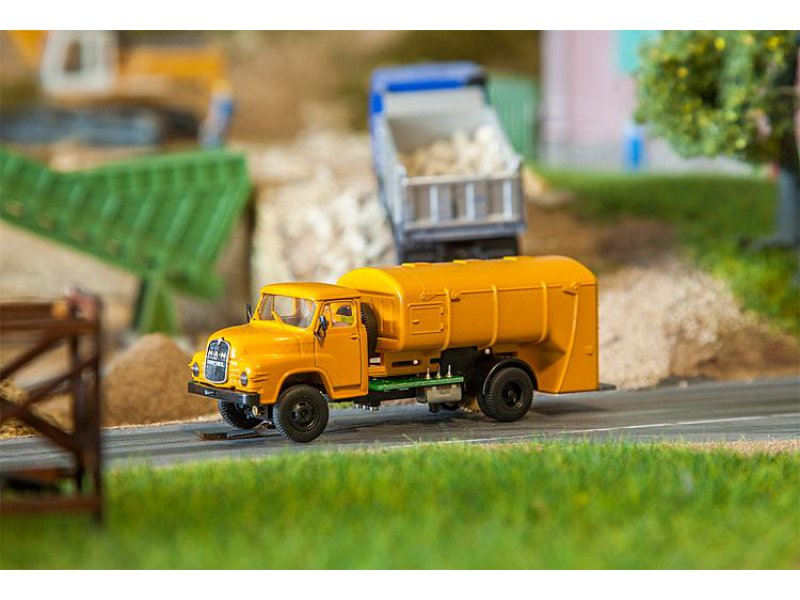 H0 BREKINA FALLER 161606 MAN 635 Müllwagen Car System