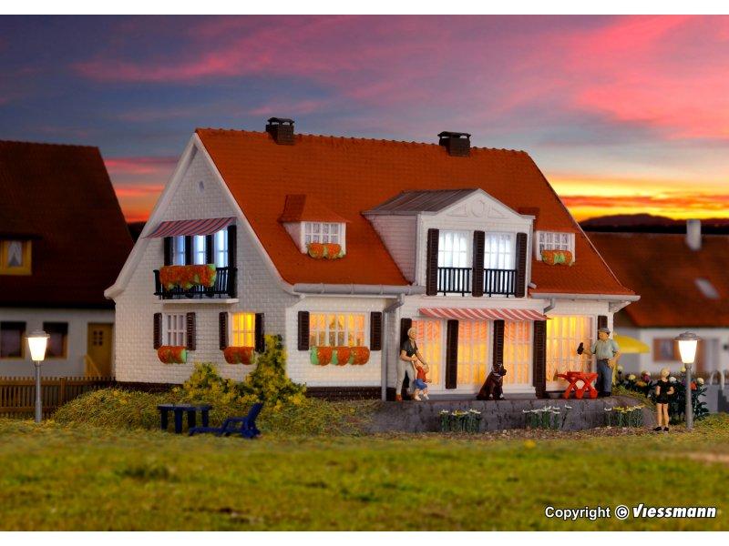 H landhaus quot cloppenburg viessmann kibri vollmer